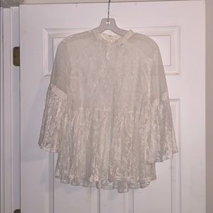 Gorgeous Umgee never worn Lace Blouse